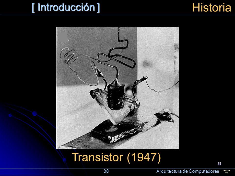Historia Transistor (1947) [ Introducción ]